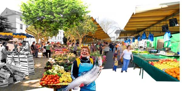 Place du marché.