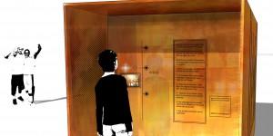 MEMORY - Un écran diffuse au quotidien les histoires récoltées
