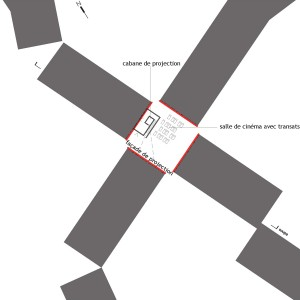 plan du site - avant chantier