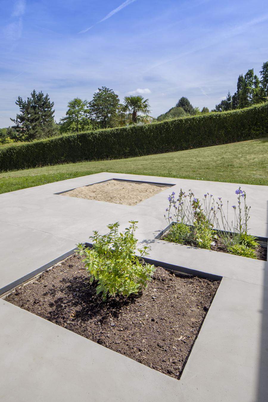 terrasse plantée