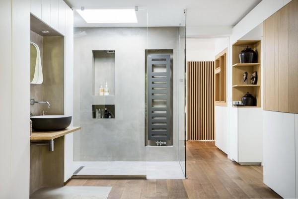 étage, douche